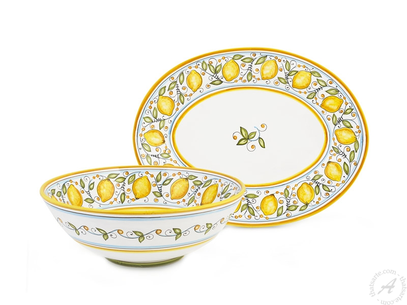 Limoni tableware collection by Fima