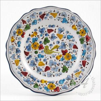 Italian dinnerware plate - Arabesco classico by Fima (Deruta)  sc 1 st  Italian ceramics & What are the most popular Italian Dinnerware patterns? - thatsArte ...