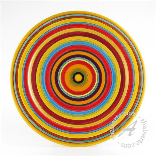 Deruta ceramic plate by D&G Design