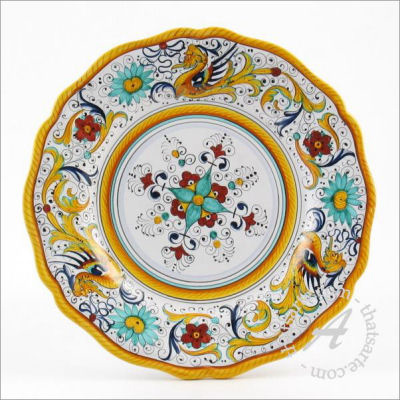 Italian dinnerware plate - Raffaellesco by Fima (Deruta)  sc 1 st  Italian Ceramics & What are the most popular Italian Dinnerware patterns? - thatsArte ...