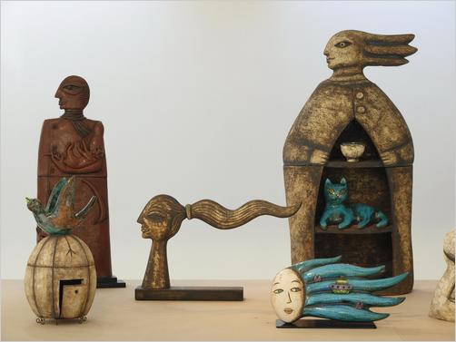 Italian Pottery - Ceramic works by Susanna Vassura - Photo credits: www.faenzanotizie.it