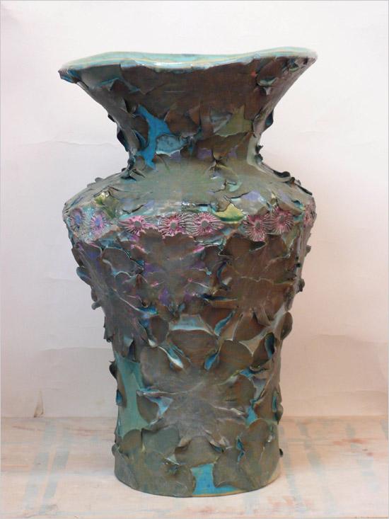 European and Italian Ceramics - Vase by artist Kati Junger