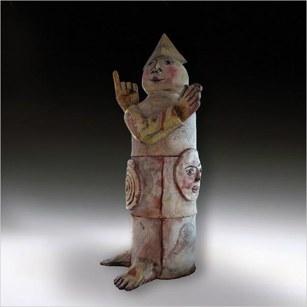 Italian pottery - Castellamonte - Italian ceramic exhibition - Work by Emanuele Luzzati - Photo credits: www.comune.castellamonte.to.it
