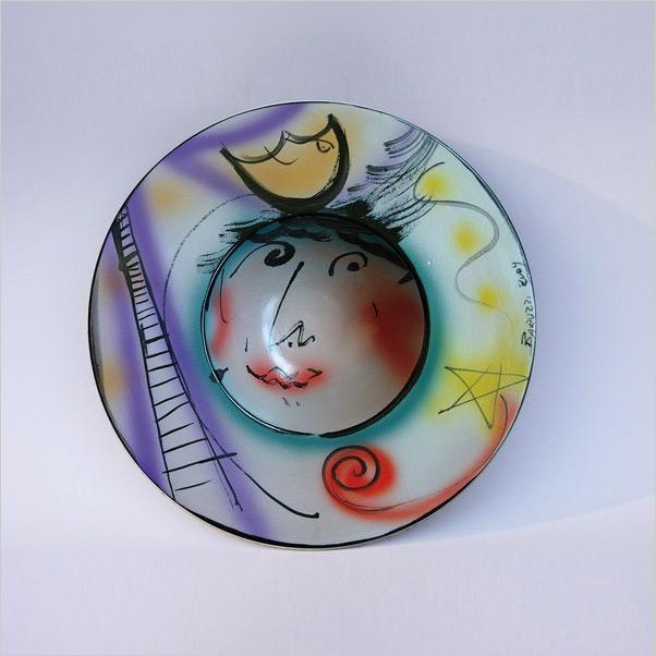 Italian pottery - Castellamonte - Italian ceramic exhibition - Work by Sandra Baruzzi - Photo credits: www.comune.castellamonte.to.it
