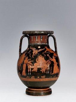 Painter from Licurgo- Wedding scene - 350 b.C. - Photo credits: www.palazzomontanari.com