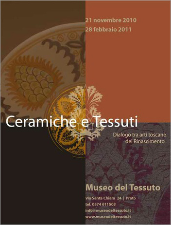 Italian Ceramics - Tuscan Pottery and Textiles - Photo credits: www.museodeltessuto.it
