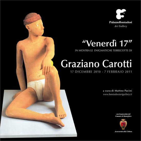 """Italian Ceramics - Graziano Carotti - """"Venerdì 17"""""""