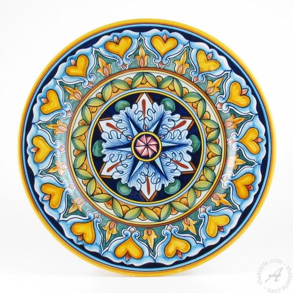Handmade Italian Dinner Plate - D&G Design