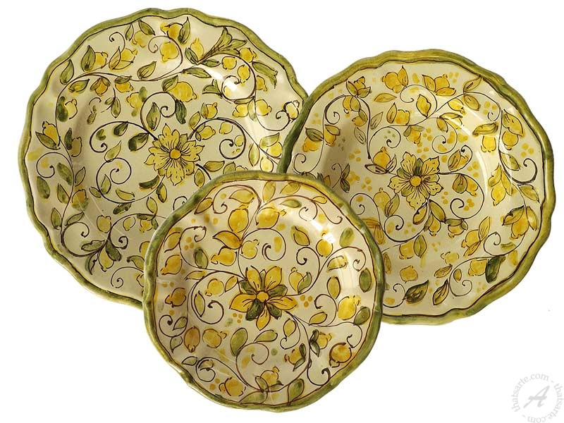 Sicilian dinnerware sets