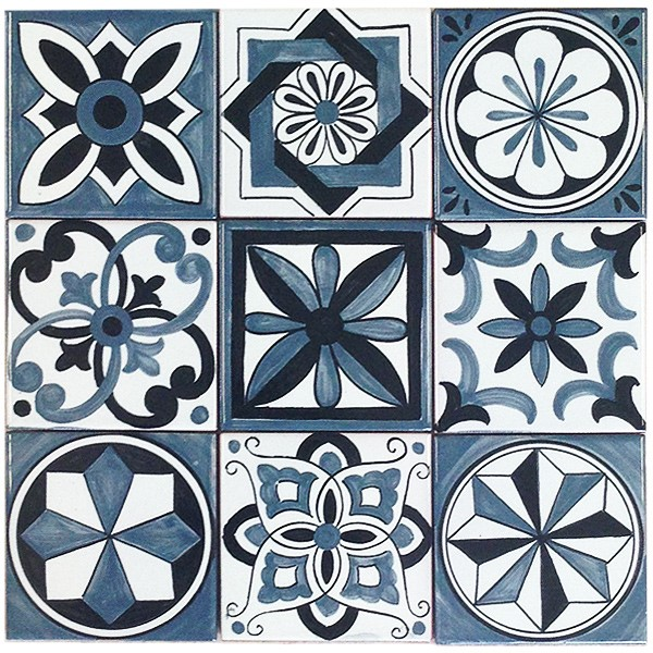 Francesca Niccacci hand painted contemporary tiles