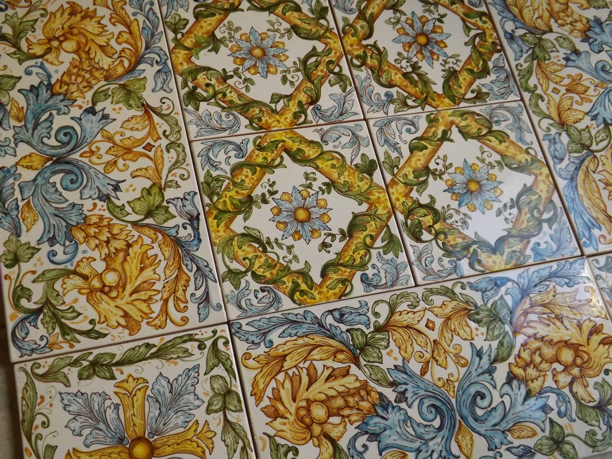 Ghenos tile floors and panels