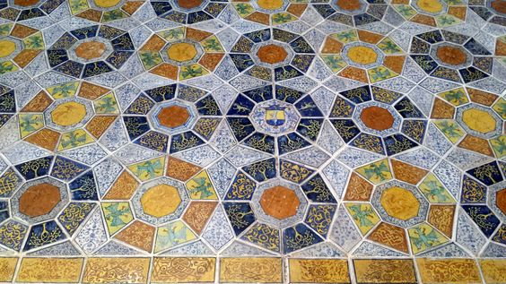 Credits Victoria and Albert Museum - From the tile floor of the Church of San Francesco in Forlì, Italy