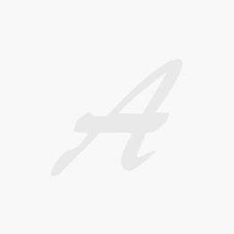 Set of 6 - Orange Lucite handles